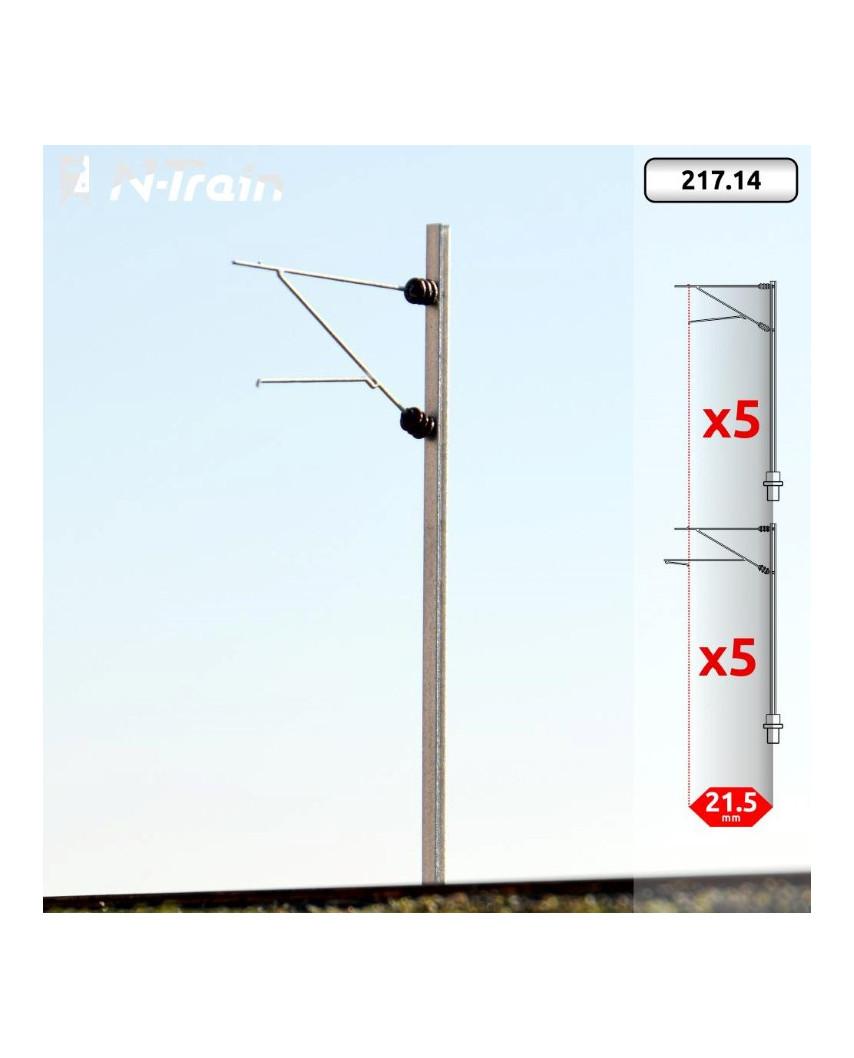 SBB - H-Profile mast with FL-140 Bracket - S (10 units)