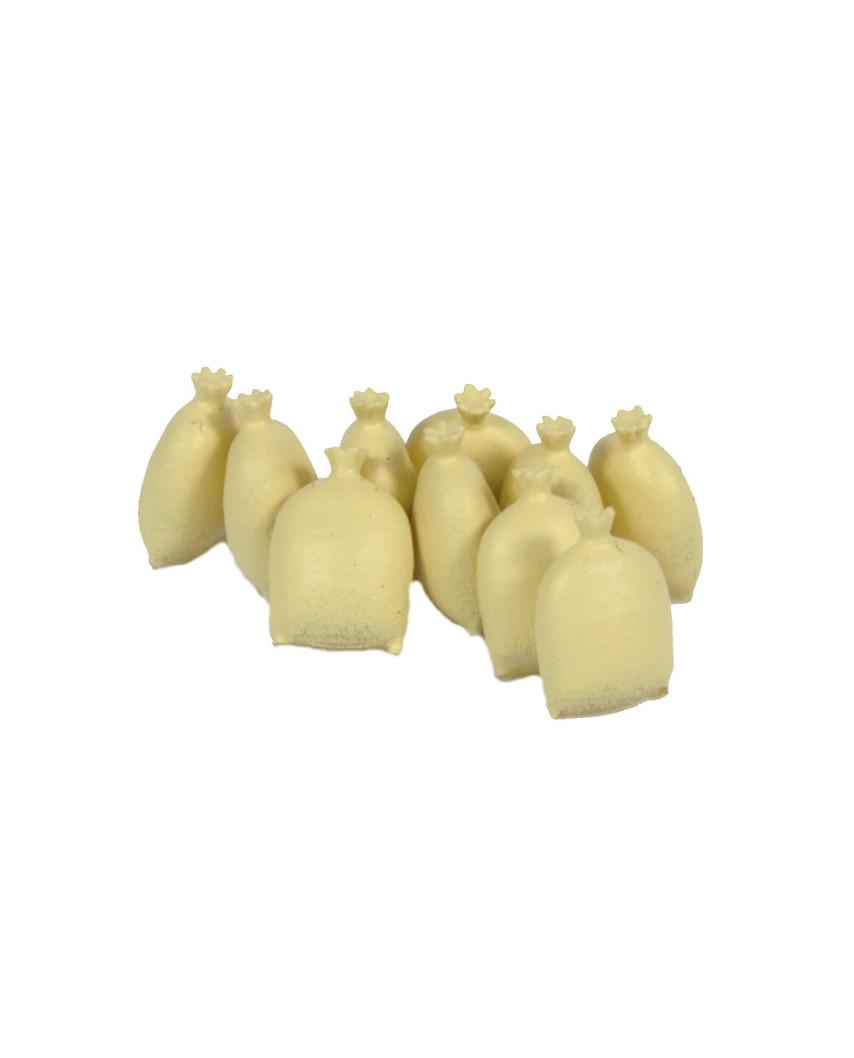 10 sacos de arpillera