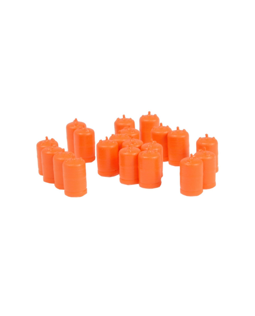 Butangasflaschen (20 St.) - Orange