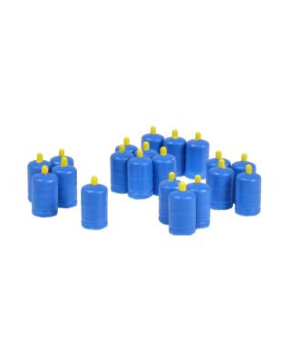 Butangasflaschen (20 St.) - Blau