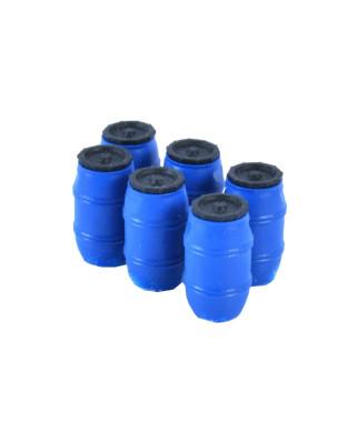 Plastikfässer 220 L. (6 St.) - Blau