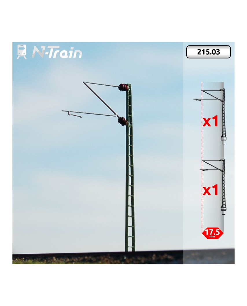 DB - Lattice mast with Re160 Bracket - S (2 units)