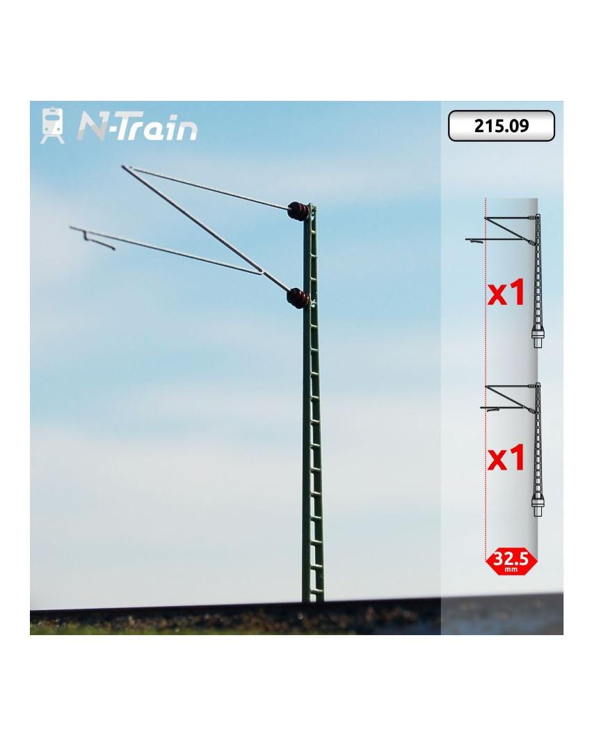 DB - Lattice mast with Re160 Bracket - XL (2 units)