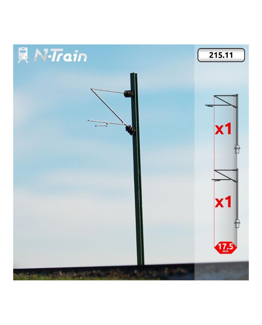 DB - H-Profile mast with Re160 Bracket - S (2 units)