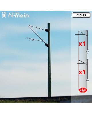 DB - Poste en H con ménsula Re160 - M (2 uds.)
