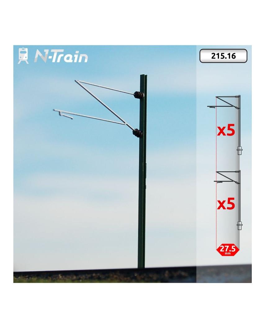 DB - Poste en H con ménsula Re160 - L (10 uds.)