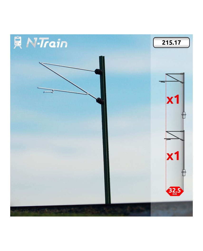 DB - H-Profile mast with Re160 Bracket - XL (2 units)