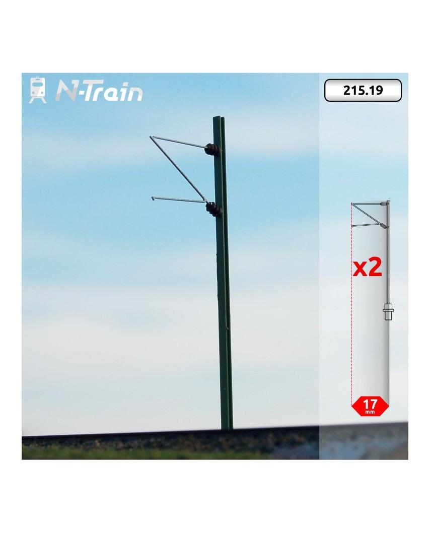 DB - H-Profile mast with Re75 Bracket - (2 units)