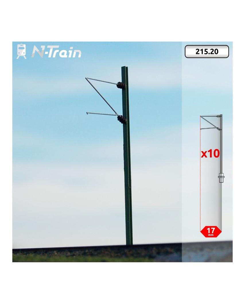 DB - H-Profile mast with Re75 Bracket - (10 units)
