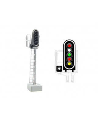 SNCF - Main signal with 6 LEDs (Red/White/Green/Red/Yellow/White)