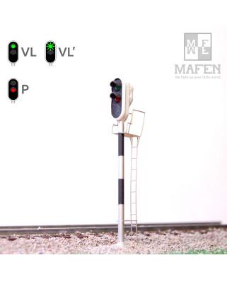 RENFE - Signal principal avec 2 LEDs (vert/rouge)