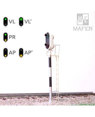 RENFE - Signal avancé avec 2 LEDs (vert/jaune)