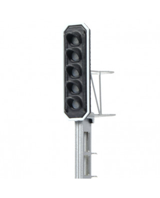 SBB - Main signal with 5 LEDs (Green/Red/Yellow/Green/Yellow)