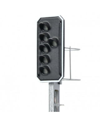 SBB - Main signal with 6 LEDs (Green/Yellow/Green/Yellow/Green + Red)