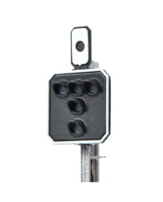 SBB - Blocksignal mit 4 LEDs (Gelb+Grün/Rot/Notrot+Gelb)