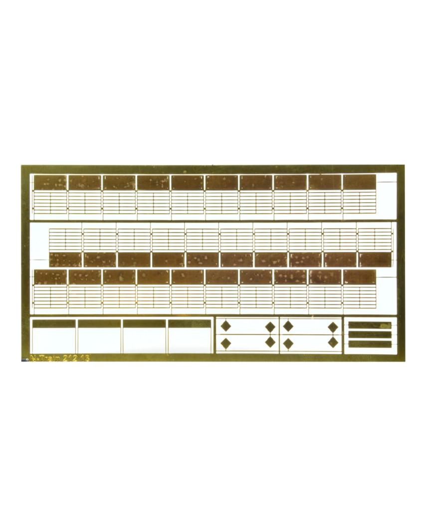 Zäune aus Messing - Modell 10