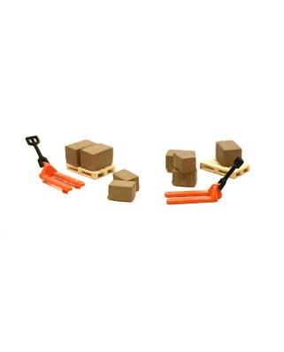 N | Pack logística - 2 traspalés naranjas