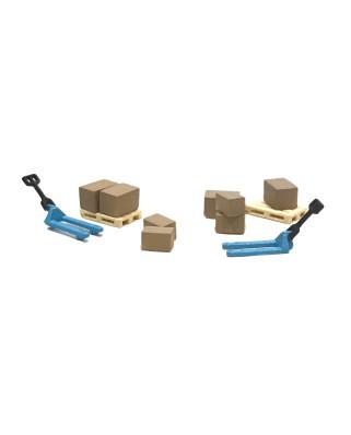 N | Pack logística - 2 traspalés azules