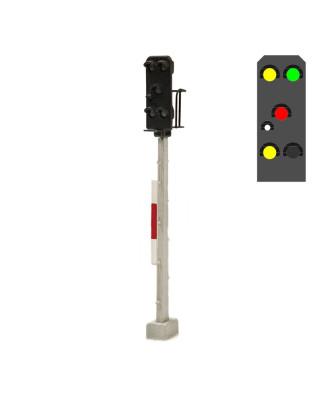 DR - Entry signal (5L) - y/g/r/w/y+emergency red
