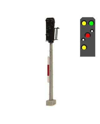 DR - Exit signal (6L) - y/g/w/r/w/y