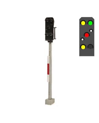DR - Exit signal (6L) - y/g/w/r/w/y +emergency red