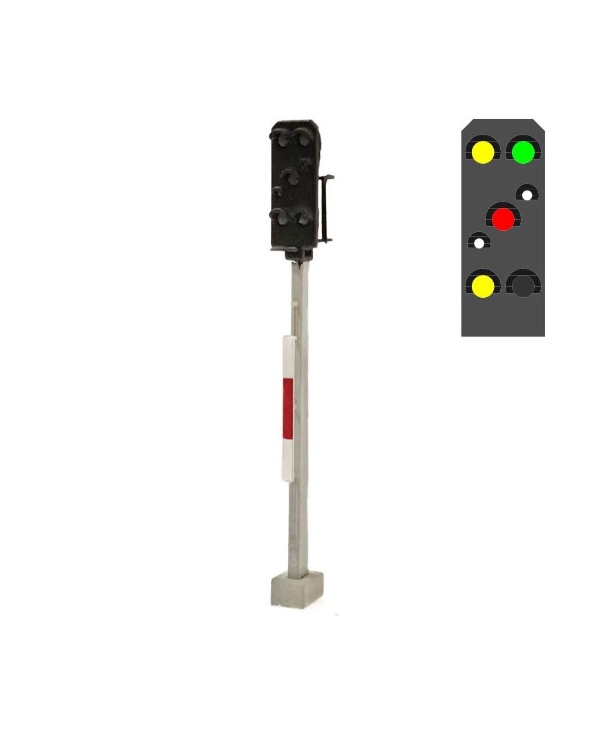 DR - Señal de salida (6L) - a/v/b/r/b/a +Rouge d'urgence