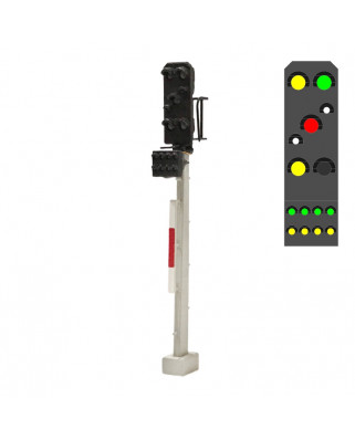 DR - Zusatzsignal (8L) - y/g/w/r/w/y +g/y