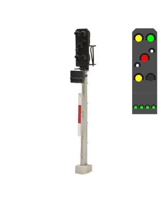DR - Zusatzsignal (7L) - y/g/w/r/w/y +g
