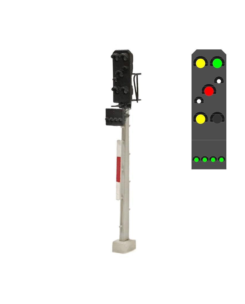 DR - Combined signal (7L) - y/g/w/r/w/y +g