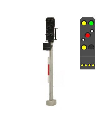 DR - Combined signal (7L) - y/g/w/r/w/y + y