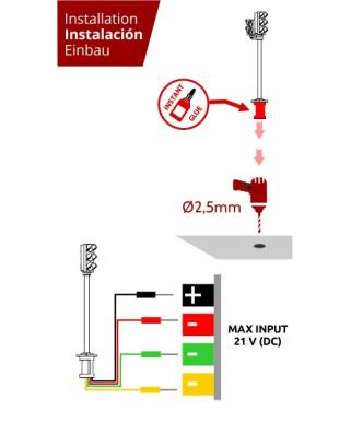 Traffic lights for vehicles (2 units)