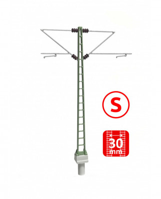 DB - Poste con doble ménsula Re160 - S (6 uds.)