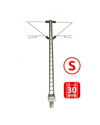DB - Poste con doble ménsula Re160 - S (3+3 uds.)