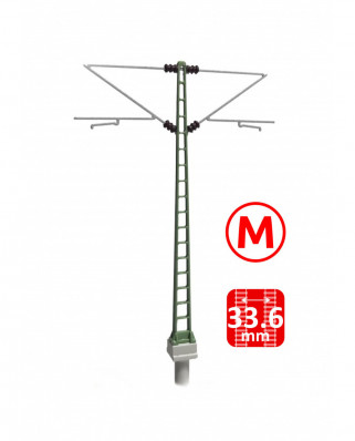 DB - Middle masts with Re160 brackets - M (3+3 units)