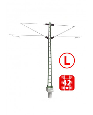DB - Middle masts with Re160 brackets - L (3+3 units)
