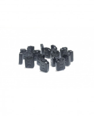 Fuel jerrycans (16 units) - black