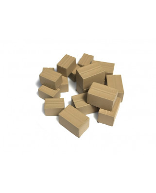 16 parcel / cardboard boxes