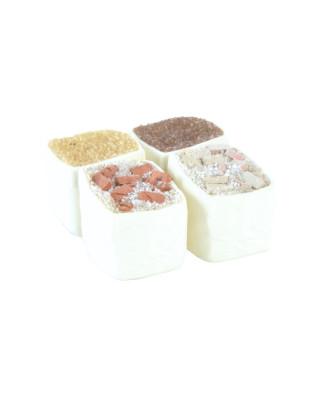 4 sacs de gravats/granulats
