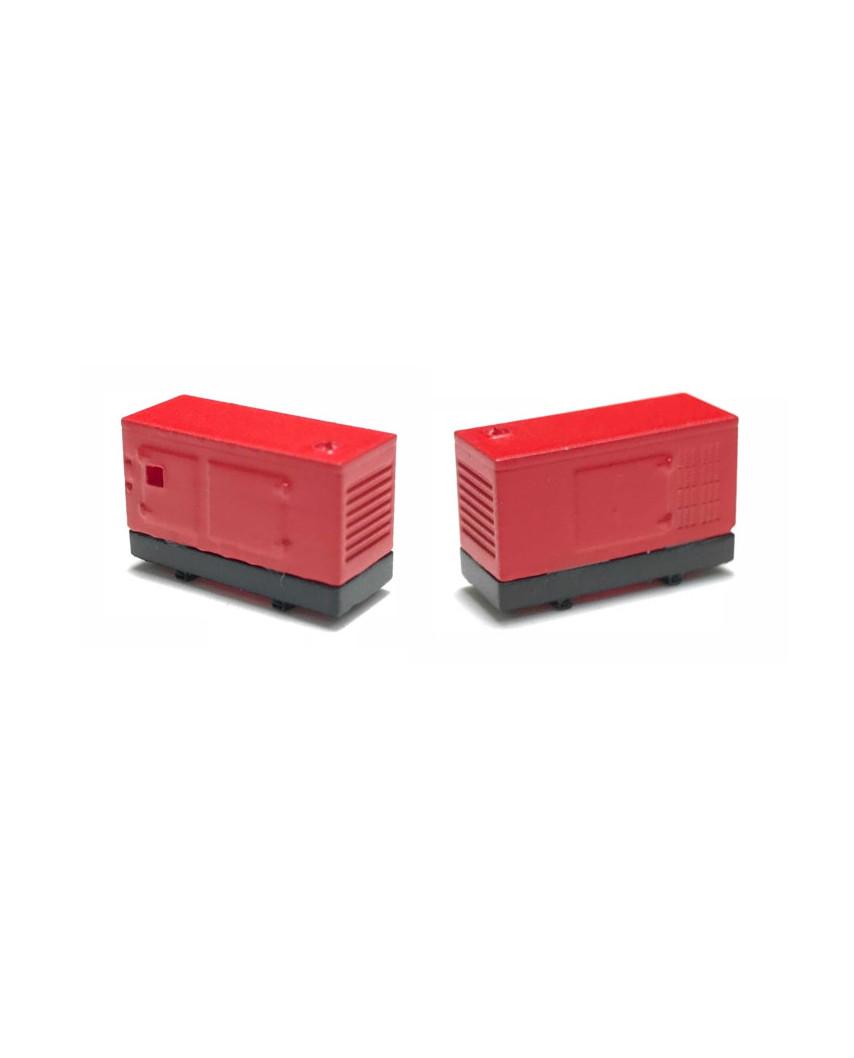 2 electric generators 100 kW