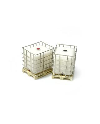 """GRG """"Gran recipiente para mercancías a Granel"""" sobre palé (3 unidades)"""