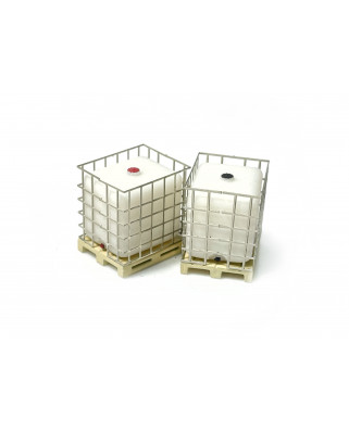 "IBC ""Intermediate Bulk Container"" on pallet (3 units)"