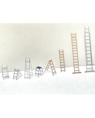 Ensemble d'échelles