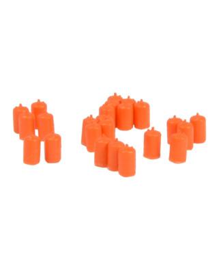 24 bombonas de butano (naranja)