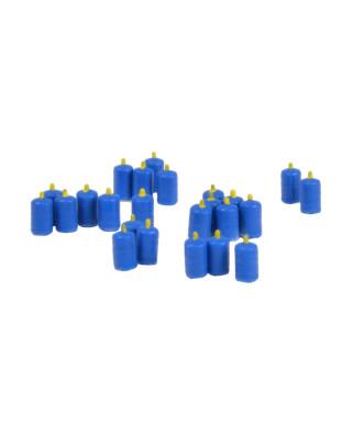 24 bombonas de butano (azul)