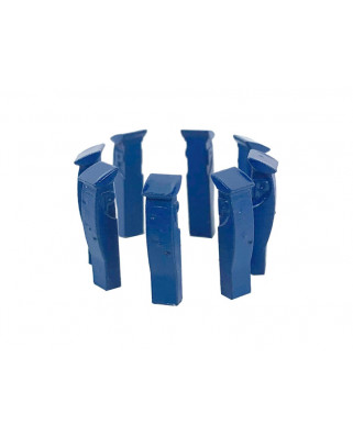 8 parquímetros (azul)