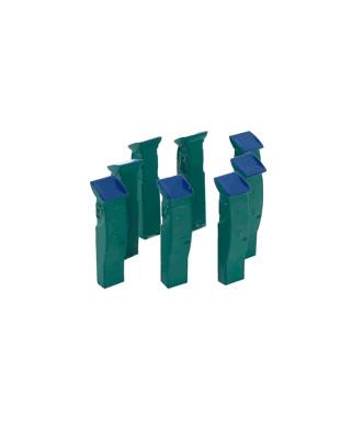 8 parquímetros (verde)